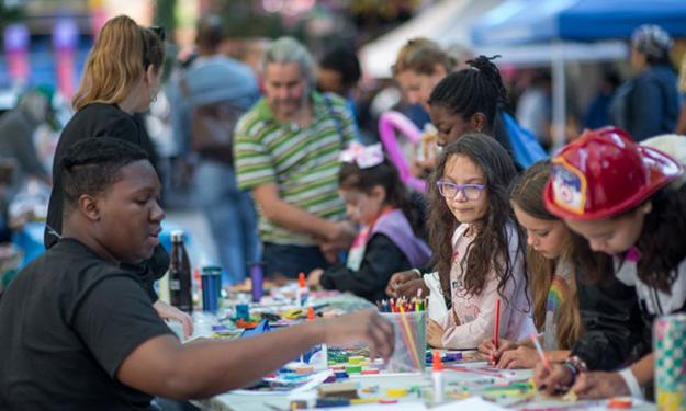 donate to hope community fall fest children