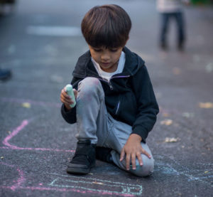 hope community fall fest 2019 chalk art