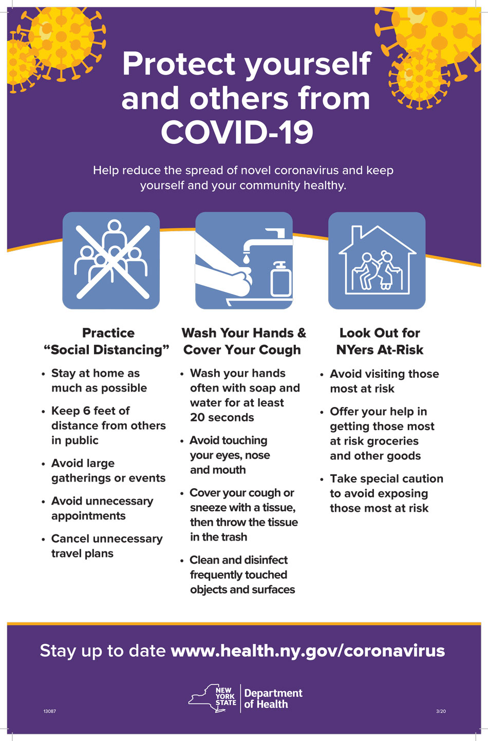 NYS-Protect Yourself from Covid 19
