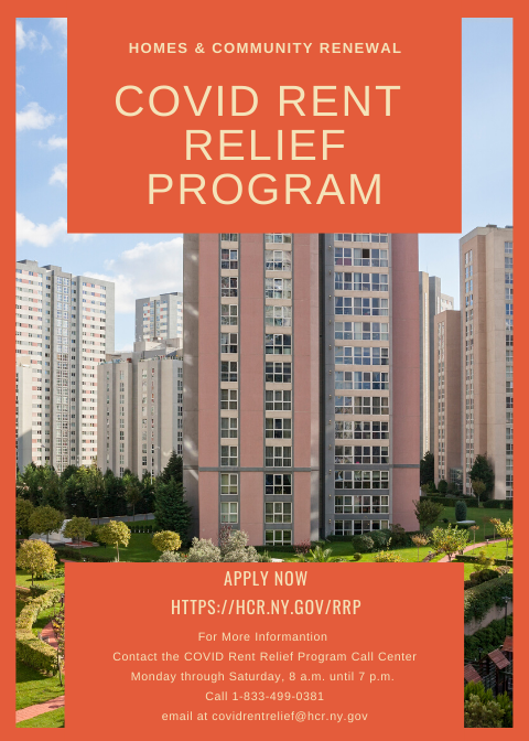 NYS covid 19 rent relief program hope community