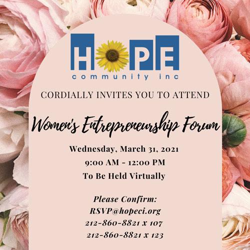 Womens Entreprenuership Forum 2021